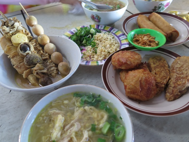 A typical Semarang spread.