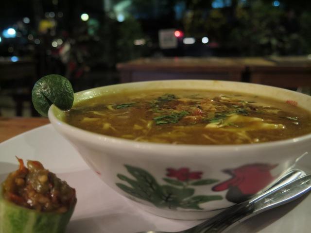 Soto Ayam at Sangria, Jalan Banda.