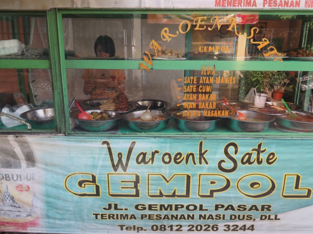 Every Wednesday on my way to work I'd buy sayur asem from Waroenk Sate Gempol (the best sayur asem in Bandung, in my opinion). I never thought to ask why it was only sold on Wednesdays.